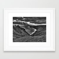 hawaii Framed Art Prints featuring Hawaii by Green Skye