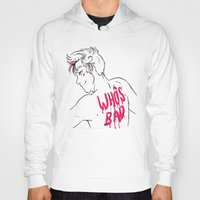 kendrawcandraw Hoodies featuring Who's Bad by kendrawcandraw