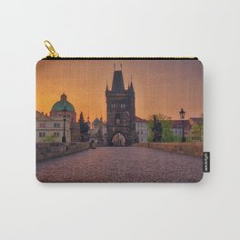 Charles Bridge Prague Czech Republic Carry-All Pouch