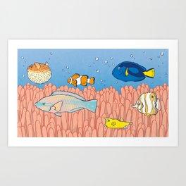 Fish Day Art Print