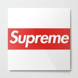 Supreme world Metal Print