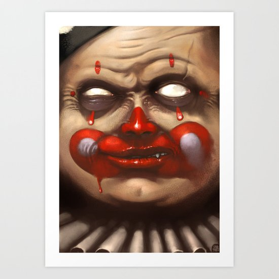 Hide your Children Art Print
