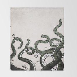 Octopus Tentacles Throw Blanket