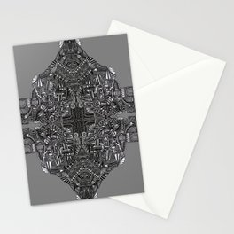 """Tutto sulle mie spalle!"" (0017) Stationery Cards"