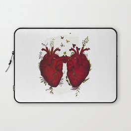 two hearts beating as one Laptop Sleeve