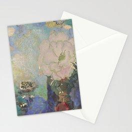 A remembrance of Redon- Purple Haze Stationery Cards