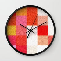 blanket Wall Clocks featuring Blanket by Mr and Mrs Quirynen