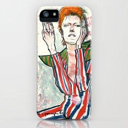Schiele's Bowie iPhone Case