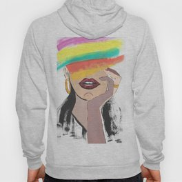 Colorful Woman Hoody