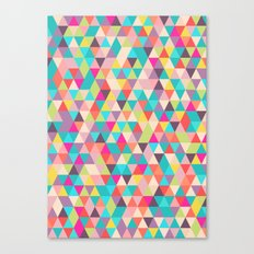 Colourful Geometry Canvas Print