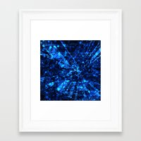 breaking Framed Art Prints featuring Breaking by 13Halliwell