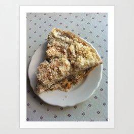 Amish apple pie Art Print