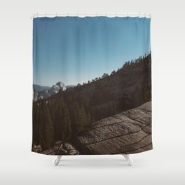 Olmsted Point, Yosemite National Park III Shower Curtain