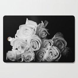 White Roses Cutting Board