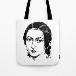 Clara Schumann Tote Bag