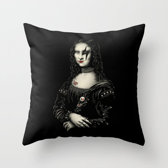 Renaissance Rocks Throw Pillow