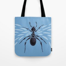 Weird Abstract Flying Ant Tote Bag