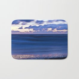 Blue Sound of the Danish Sea Bath Mat