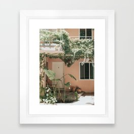 Los Angeles Life Framed Art Print