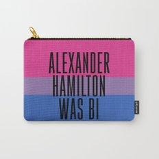 Alexander Hamilton Was Bi Carry-All Pouch