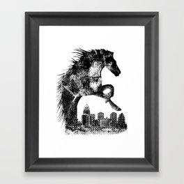 Home Of The Derby Framed Art Print