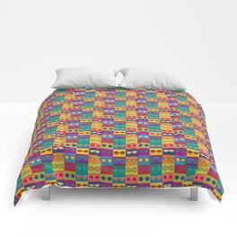 Pop Art Eyeglasses Comforters