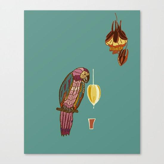 nectar thick Canvas Print