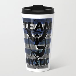 Team Mystic Strip Travel Mug