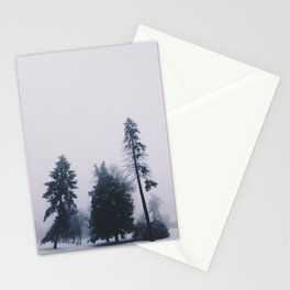 Alone in December Stationery Cards