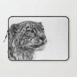 Snow Leopard G095 Laptop Sleeve