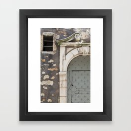 Beautiful Door Framed Art Print