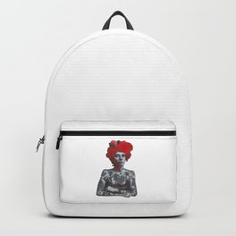 The tattooed girl Backpack