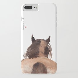 Horse (Mane&tail) iPhone Case