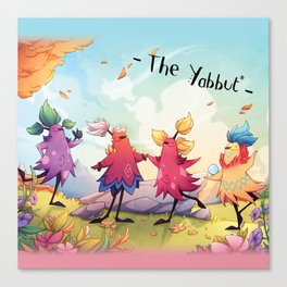 Dancing Yabbuts Canvas Print