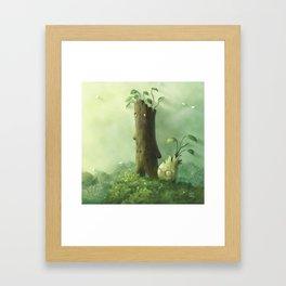 Plant Folk Framed Art Print