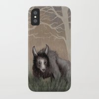 beastie boys iPhone & iPod Cases featuring Forest Beastie by Mr Patch