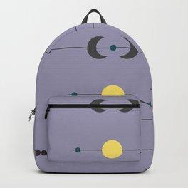 Waxing Waning Moon and Sun Backpack