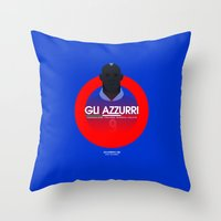 italy Throw Pillows featuring Italy by Skiller Moves