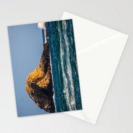 Rocky Landscape at the Sea Stationery Cards