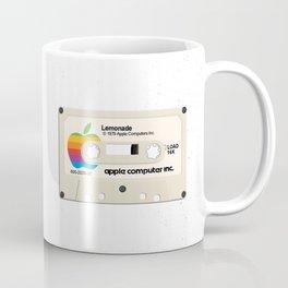 Apple and Lemonade black Coffee Mug