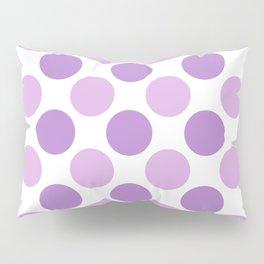 Lilac polka dots Pillow Sham