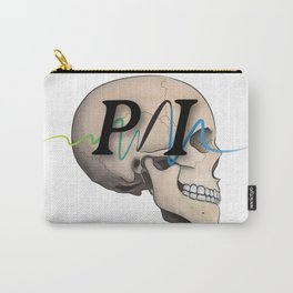 Photon Illustration Skull Carry-All Pouch