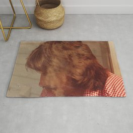 The Smoking Man Rug