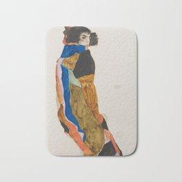 Egon Schiele - Moa (1911) Bath Mat