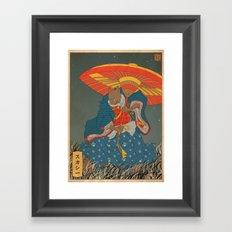 Pepperoni 3/3 Framed Art Print