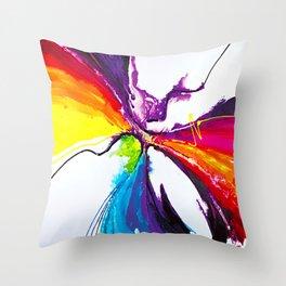 Abstract Art Britto - QB294 Throw Pillow