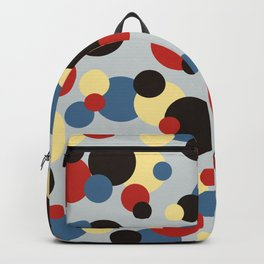 Multicolor Classic Abstract Minimal Summer Style Dots Backpack