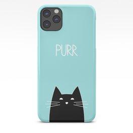 Purr iPhone Case
