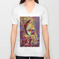hotline miami V-neck T-shirts featuring miami by donphil