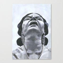 Suffering Canvas Print